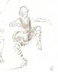 Le Cabaret des Filles de Joie (revue burlesque) - 18-04-10 - 1D - Lolaloo des Bois