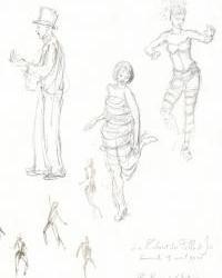 Le Cabaret des Filles de Joie (revue burlesque) - 18-04-10 - 2A - Lolaloo des Bois - Archi Seb