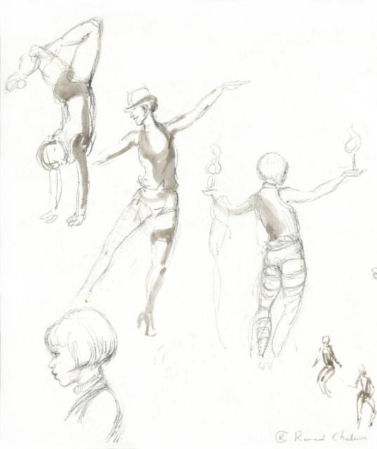 Le Cabaret des Filles de Joie (revue burlesque) - 18-04-10 - 2B - Marion Sanders - Flora la Douce
